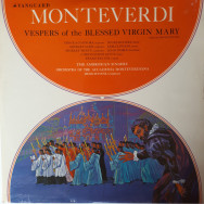 Claudio Monteverdi - Vespers Of The Blessed Virgin Mary
