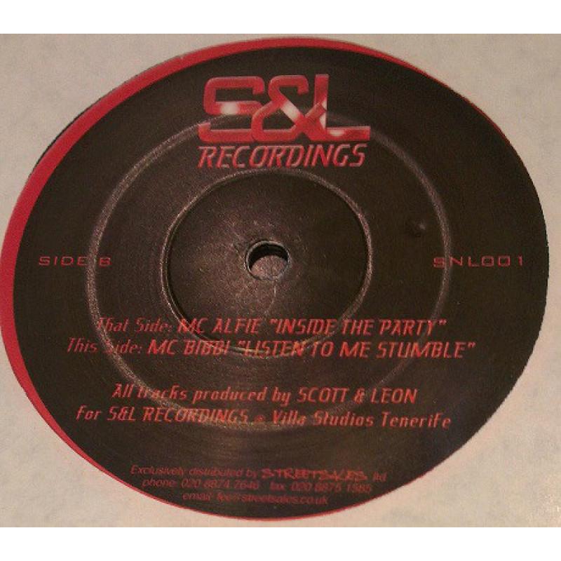 MC Alfie / MC Bibby - Inside The Party / Listen To Me Stumble