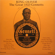 King Oliver - The Great 1923 Gennetts